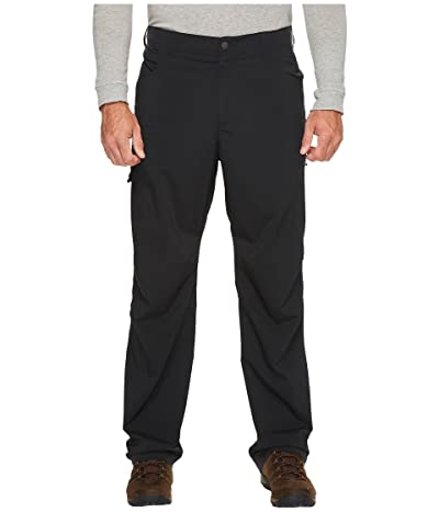 Columbia Big Tall Silver Ridge Stretch Pants (Black) Men