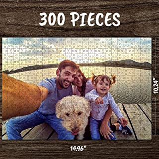 Personalized Puzzles for Adults 300 Pieces Custom Photo Jigsaw Puzzle Photo Custom Puzzles DIY Personalized Puzzles from P...