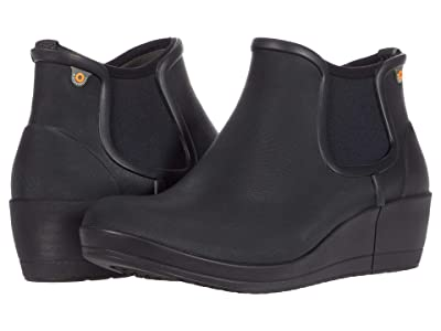 Bogs Vista Wedge Ankle (Black) Women