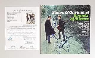 Paul Simon and Art Garfunkel signed