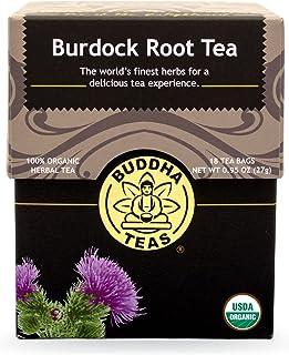 Buddha Teas Burdock Root Tea, 18 Count (Pack of 6)