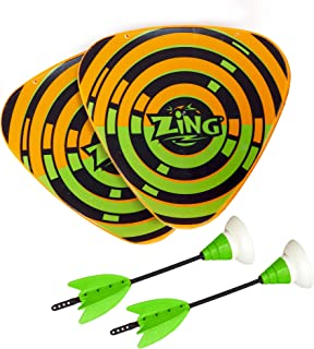 Zing Zarts Throwing Dart Fun Pack, Includes 2 Zarts and 2 Shields