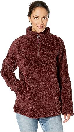 Plush Polar Fleece 1/4 Zip Pullover