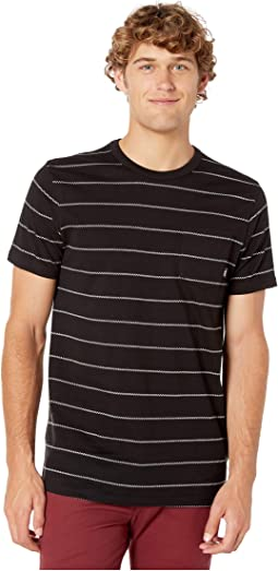 c2fcf341 Search Results. New. Black/White. 0. Vans. Checked In Stripe Crew Knit T- Shirt