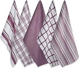DII Kitchen Dish Towels (Wine, 18x28