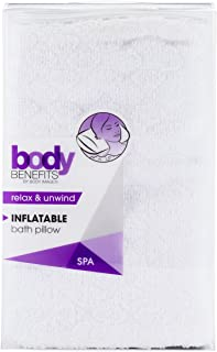 Body Benefits Inflatable Bath Pillow