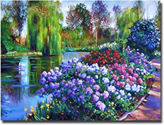 Trademark Fine Art Promise of Spring by David Lloyd Glover Canvas Wall Art, 24x32-Inch