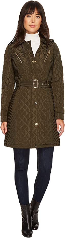 MICHAEL Michael Kors Snap Quilt with Hood M423024CZ