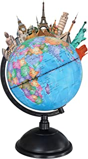 Vivitar VA90030 KidsTech Light Up Augmented Reality Globe with Free App for iOS and Android, App Included, Lights Up, Exce...
