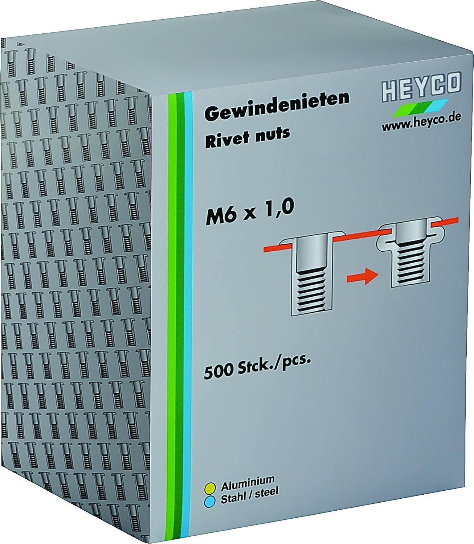 Heytec Heyco 01261300200 Gewindenietensatz in Karton M3 x 0.5 B00DOUGCWI  Ideales Geschenk für alle Gelegenheiten
