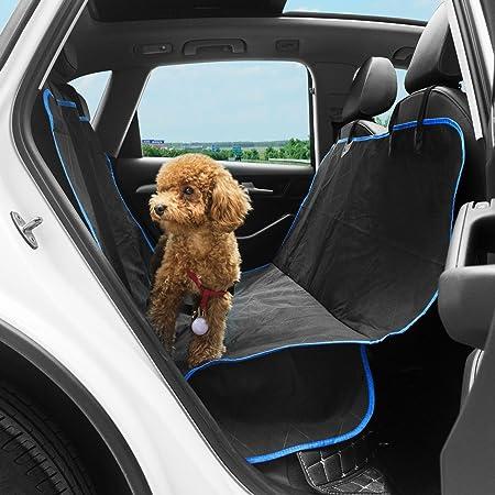 Karl Aiken piccola borsa da trasporto per auto da viaggio per cuccioli di cane Coprisedile impermeabile traspirante con guinzaglio di sicurezza seggiolino auto per gatti