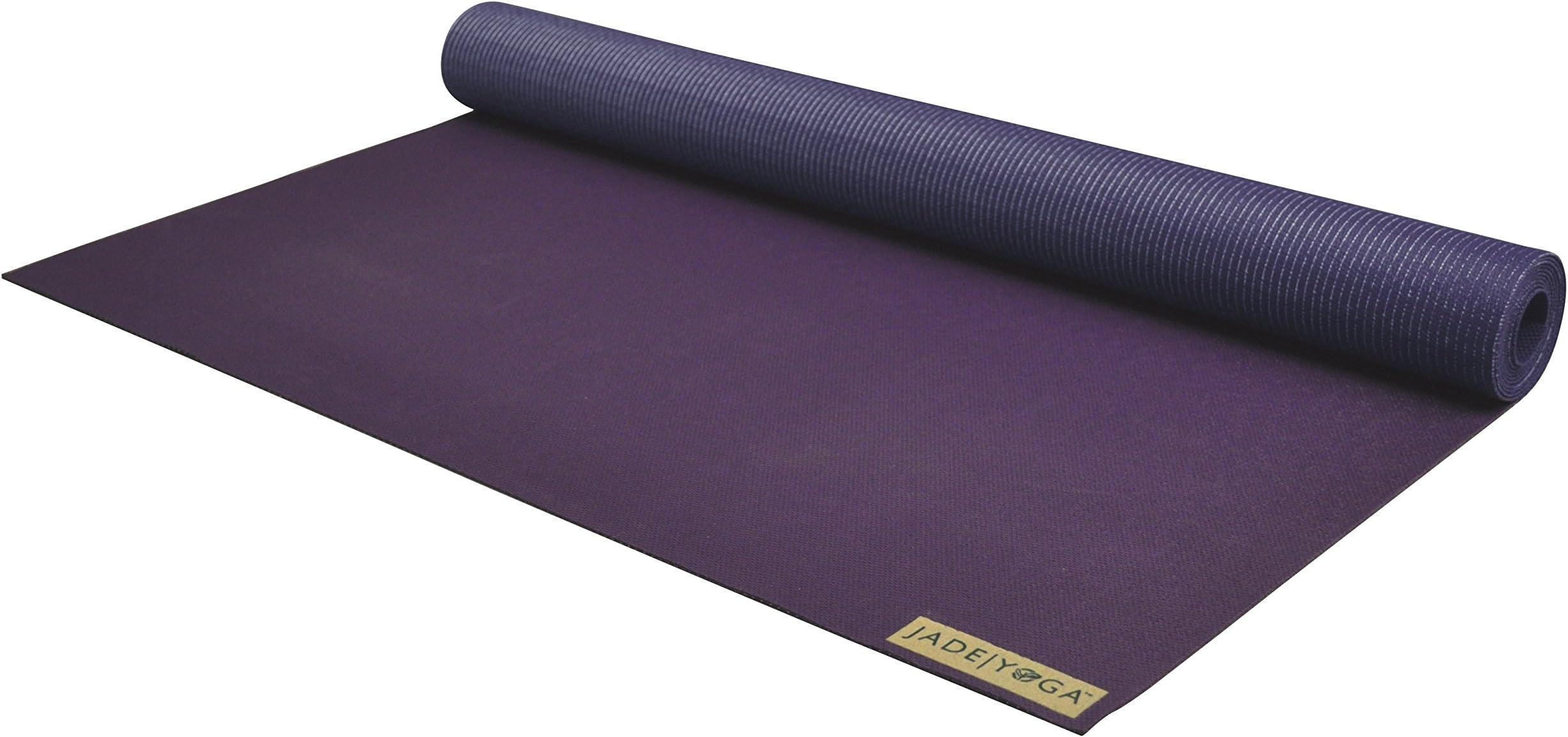 Jade Yoga - Voyager Yoga Mat (68 Inch) (Purple)