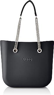 OBAG O Bag Mini, bolso de mujer, talla única Gris Size: Talla única