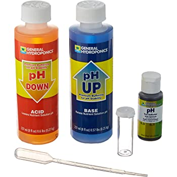General Hydroponics HGC722080 pH Control Kit for a Balanced Nutrient Solution
