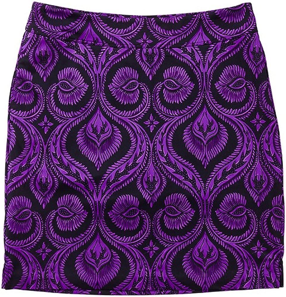 Dallas Mall Greg Norman Womens Mosaic NEW Knit Print Skort