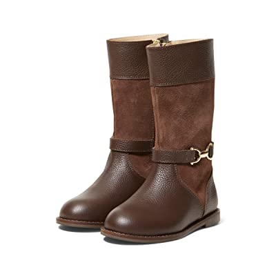 Janie and Jack Riding Boots (Toddler/Little Kid/Big Kid) (Brown) Girl
