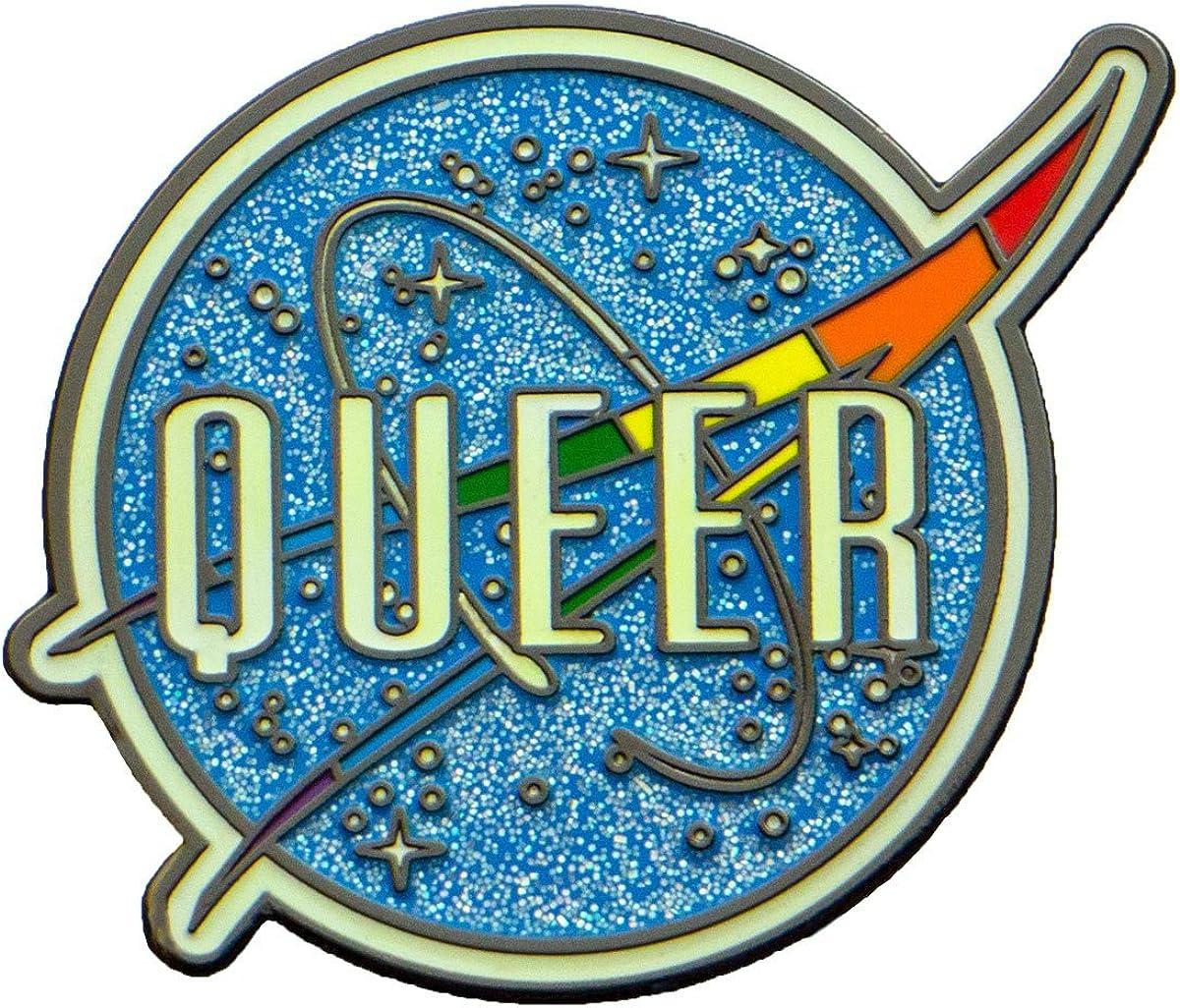 Space Queer LGBT Pride Gay 1.75