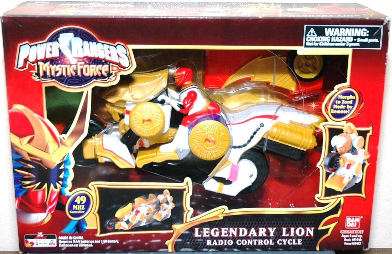 Power ranger Mystic Force Legendary Lion radio control cycle