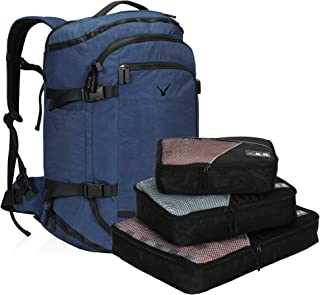 Hynes Eagle 45L Travel Backpack Flight Approved Carry on Backpack Weekender Cabin Hand Luggage