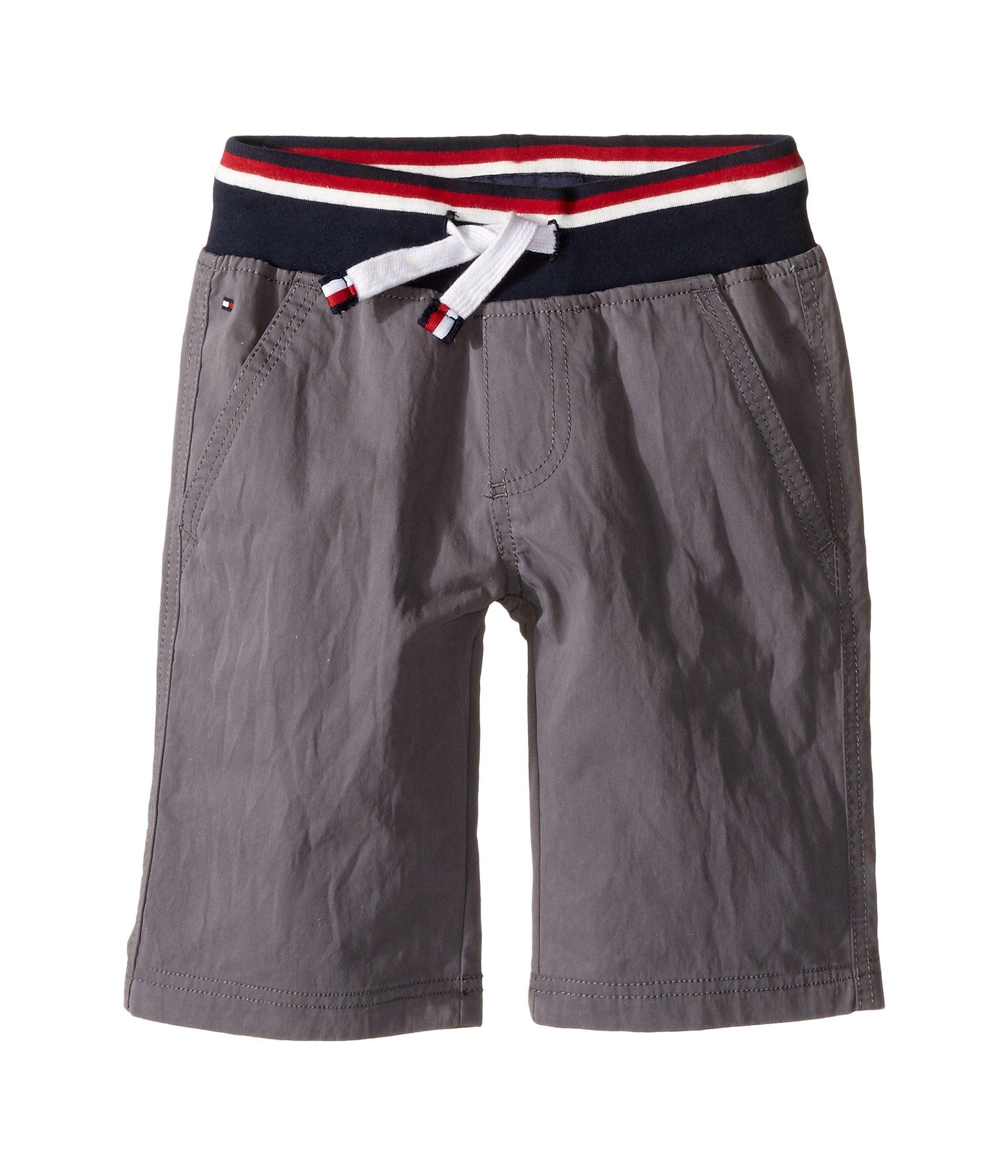 tommy hilfiger kids signature pull on shorts toddler little kids at 6pm. Black Bedroom Furniture Sets. Home Design Ideas