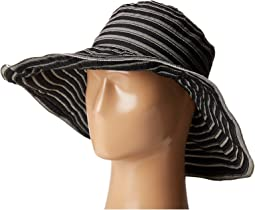 RBL4788 Tonal Ribbon Wired Brim Hat