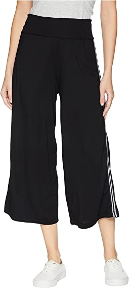 Cropped Wide Leg Culottes