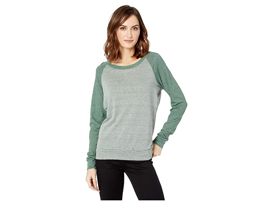 Alternative Eco-Heather Slouchy Pullover (Eco True Dusty Pine/Eco True Dusty Pine) Women