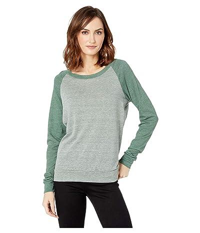 Alternative Eco-Heather Slouchy Pullover (Eco True Dusty Pine/Eco True Dusty Pine) Women