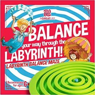aGreatLife is not a Straight Path, It's a Labyrinth Maze! Give Your Children Toys That Empowers Their Critical Thinking wi...