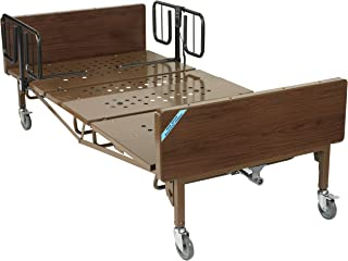 Drive Medical Heavy Duty Bariatric Hospital Bed, Brown, 42