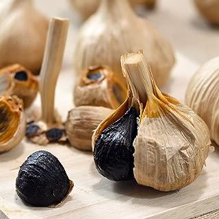 青森県産長期熟成の青森黒にんにく10玉入1袋(青森産A品M玉の高品質原料使用なので甘くて食べやすい続けられる黒ニンニクです)わか本米店