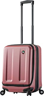 Mia Toro Italy Esotico Hardside Spinner Luggage Carry-on, Red