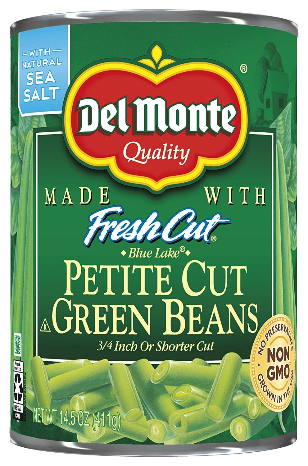 Del New product Monte Petite Cut Green Clearance SALE! Limited time! Beans Oz Pack Of 14.5 12
