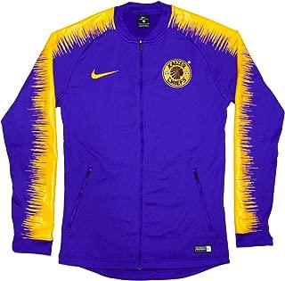 Men's Official 2018-2019 Kaizer Chiefs Anthem Jacket 918600-493 Purple