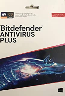 Bitdefender Antivirus Plus 1 Kullanıcı 1 Yıl