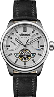 Ingersoll - The Triumph Gents Automatic Watch I06701 with a Stainless Steel Case and Genuine Leather Strap
