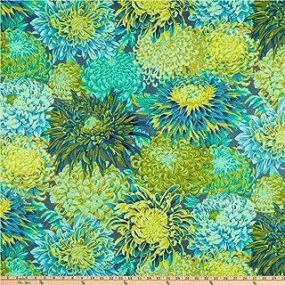 FreeSpirit Fabrics Kaffe Fassett Collective for Japanese Chrysanthemum Forest Fabric Fabric by the Yard