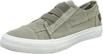 Blowfish Women's Marley Trainers, Grey (Steel Grey Color Washed Canvas), 3 UK 36 EU
