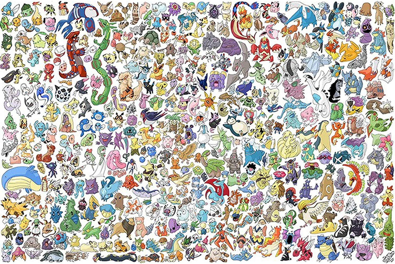 CHENZA Pokemon Puzzle 1000 Max 51% OFF Fresno Mall 1500 2000 5000 Pieces 6000 3000 4000