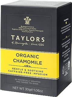 Taylors of Harrogate Organic Chamomile Herbal Tea, 20 Count(Pack of 1)