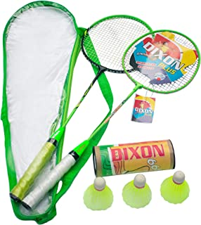 Swarn Mahal Corporates Badminton Racket with 3 Pieces Nylon Shuttlecock and Full Cover