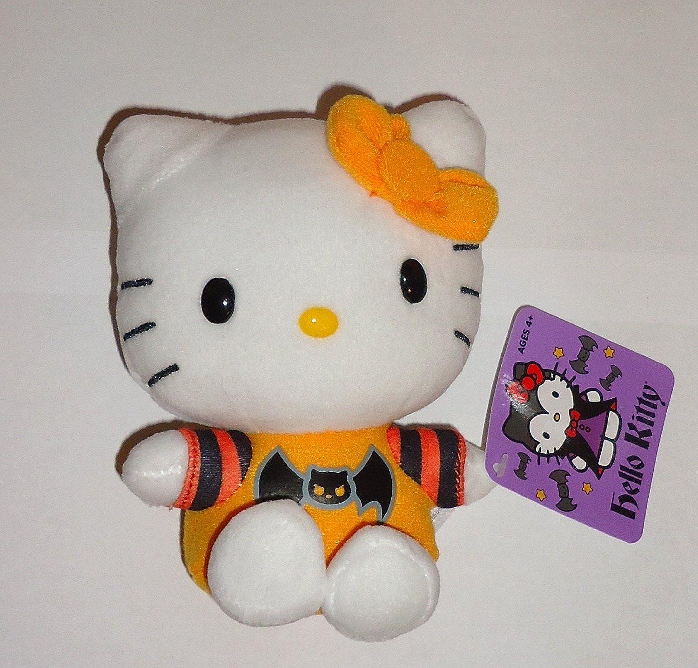 Halloween 2013 Hello Kitty 5 Inch Plush Bat Shirt