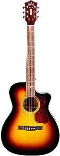 Guild OM-140CE Acoustic-Electric Guitar in Sunburst
