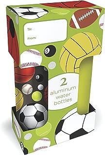 Gaiam 750ml Aluminum Water Bottle 2-Pack