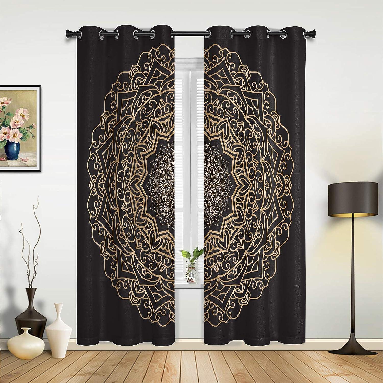 Super intense SALE Beauty Decor Window Sheer Curtains Minim Dallas Mall for Living Room Bedroom