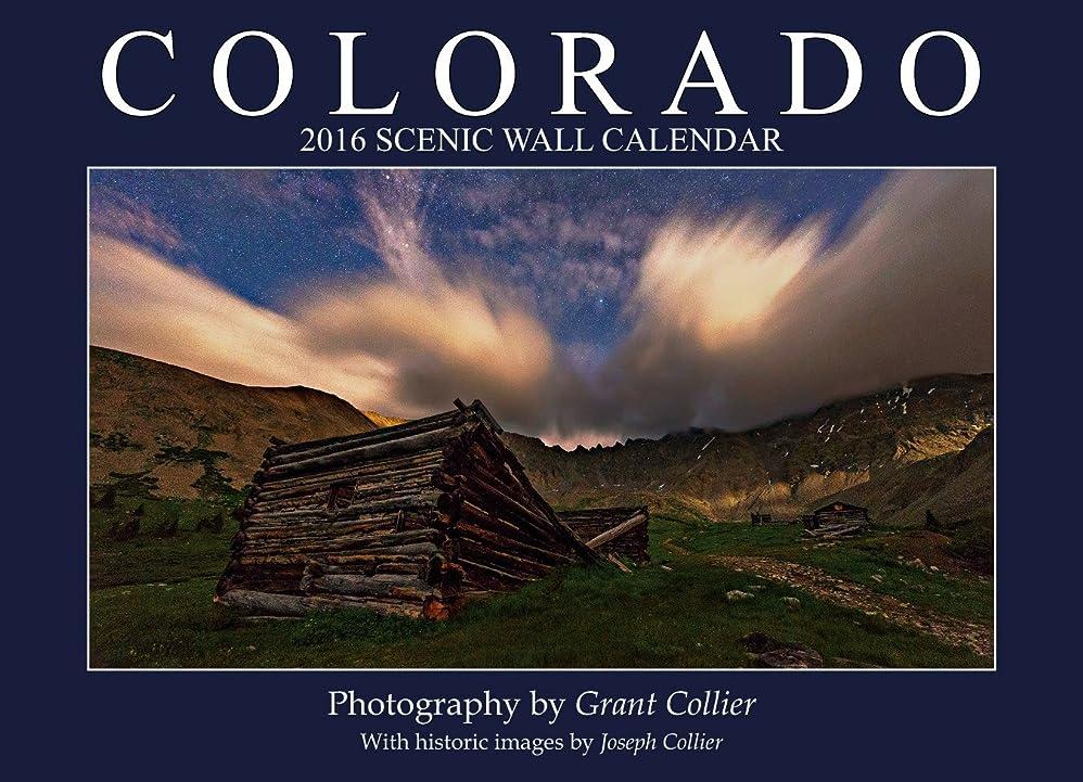 ロッジのりサーバColorado 2016 Scenic Wall Calendar