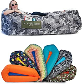 Chillbo Shwaggins Inflatable Couch – Cool Inflatable Chair. Upgrade Your Camping..