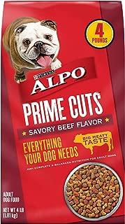 Purina ALPO Dry Dog Food, Prime Cuts Savory Beef Flavor - (4) 4 lb. Bags