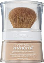 L'Oréal Paris True Match Mineral Loose Powder Foundation Light Ivory, 0.35 Ounce
