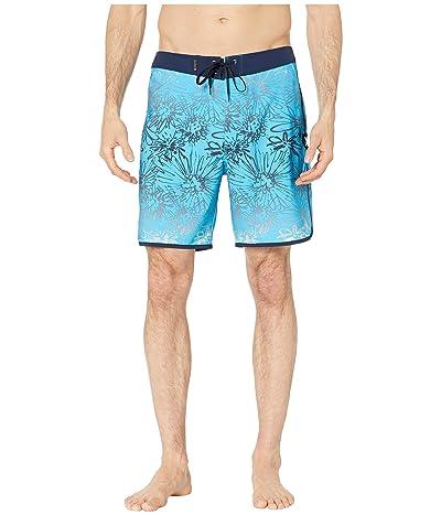 Hurley 18 Phantom Sweet Left Boardshorts (Blue Fury) Men